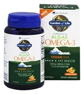 Minami Nutrition - Vegan DHA Formula Orange - 60 Softgels, from category: Nutritional Supplements