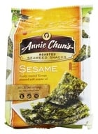 Image of Annie Chun's - Seaweed Snacks Roasted Sesame - 0.35 oz. DAILY DEAL
