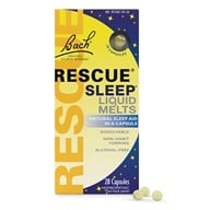 Rescue Remedy Sleep Liquid Melts Natural Sleep Aid - 28 Kapsułki