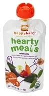 Image of HappyBaby - Organic Baby Food Stage 3 Meals Ages 7+ Months Amaranth Ratatouille - 4 oz.