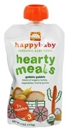 Image of HappyBaby - Organic Baby Food Stage 3 Meals Ages 7+ Months Gobble Gobble - 4 oz.