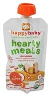 Image of HappyBaby - Organic Baby Food Stage 3 Meals Ages 7+ Months Chick Chick - 4 oz.