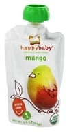HappyBaby - Organic Baby Food Stage 1 Meals Mango - 3.5 oz. (852697001347)