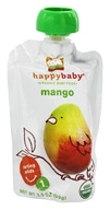 HappyBaby - Organic Baby Food Stage 1 Meals Mango - 3.5 oz. by HappyBaby