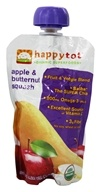 HappyBaby - HappyTot Organic Superfoods Stage 4 Apple & Butternut Squash - 4.22 oz. (852697001309)