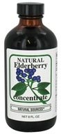 Natural Sources - Natural Elderberry Concentrate - 8 oz.