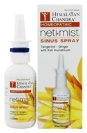 Himalayan Chandra - Neti Mist Homeopathic Sinus Spray - 1 oz.