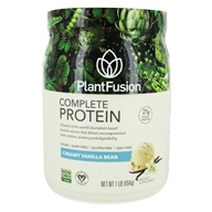 PlantFusion - Nature's Most Complete Plant Protein Vanilla Bean - 1 lb., from category: Health Foods
