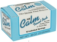 A to B Calm - Original Freeze-Dried Instant Calcium Magnesium Drink - 10 Individual Servings - 0.85 oz.