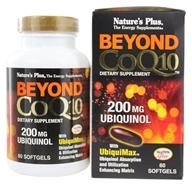Nature's Plus - Beyond CoQ10 Ubiquinol 200 mg. - 60 Softgels (097467495678)