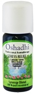 Image of Oshadhi - Professional Aromatherapy Stress Relief Synergy Blend Essential Oil - 10 ml.