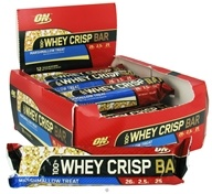 Optimum Nutrition - 100% Whey Crisp Bar Marshmallow Treat - 2.29 oz.