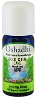 Image of Oshadhi - Professional Aromatherapy Cold & Flu Synergy Blend Essential Oil - 10 ml.