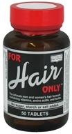 Only Natural - For Hair Only - 50 Tablets by Only Natural