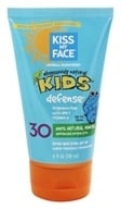 Image of Kiss My Face - Kids Natural Mineral Sunblock Lotion Frangrance-Free 30 SPF - 4 oz.