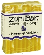 Image of Indigo Wild - Zum Bar Goat's Milk Soap Lemon-Geranium - 3 oz.
