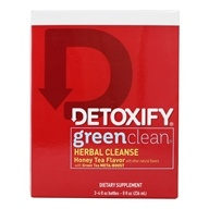 Image of Detoxify Brand - Green Clean Herbal Cleanse Honey Tea Flavor - 8 oz.