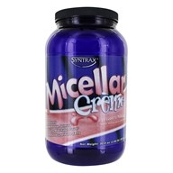 Syntrax - Micellar Creme Casein Strawberry Milkshake - 2.01 lbs. by Syntrax