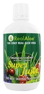 Real Aloe - Organically Grown Real Aloe Vera Super Juice - 32 oz. by Real Aloe