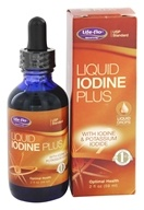 Life-Flo - Liquid Iodine Plus With Iodine & Potassium Iodide - 2 oz. (645951915470)