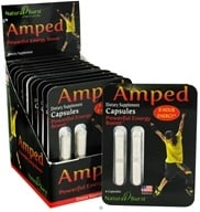 Neutralean - Amped Powerful Energy Boost - 4 Capsules CLEARANCE PRICED (Formerly Natural Burst)