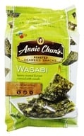 Image of Annie Chun's - Seaweed Snacks Roasted Wasabi - 0.35 oz.