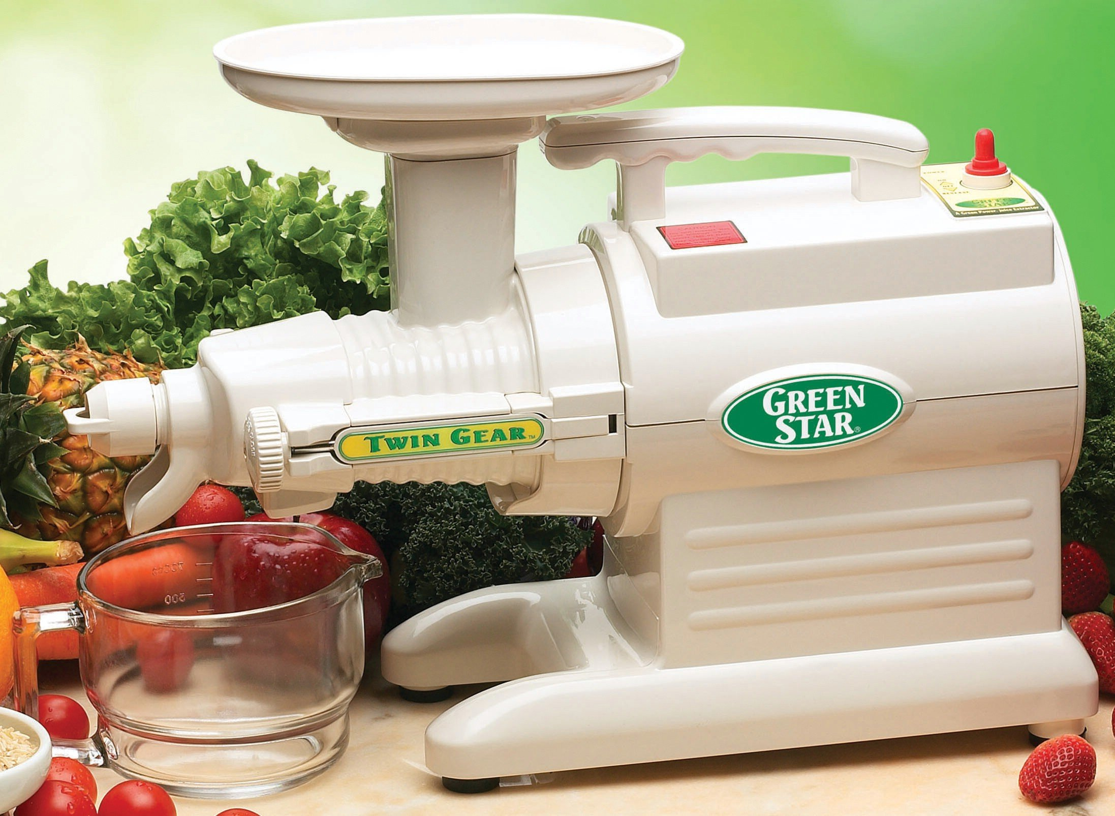 TriBest - Juicer Green Star Basic Juice Extractor GS-1000 by TriBest