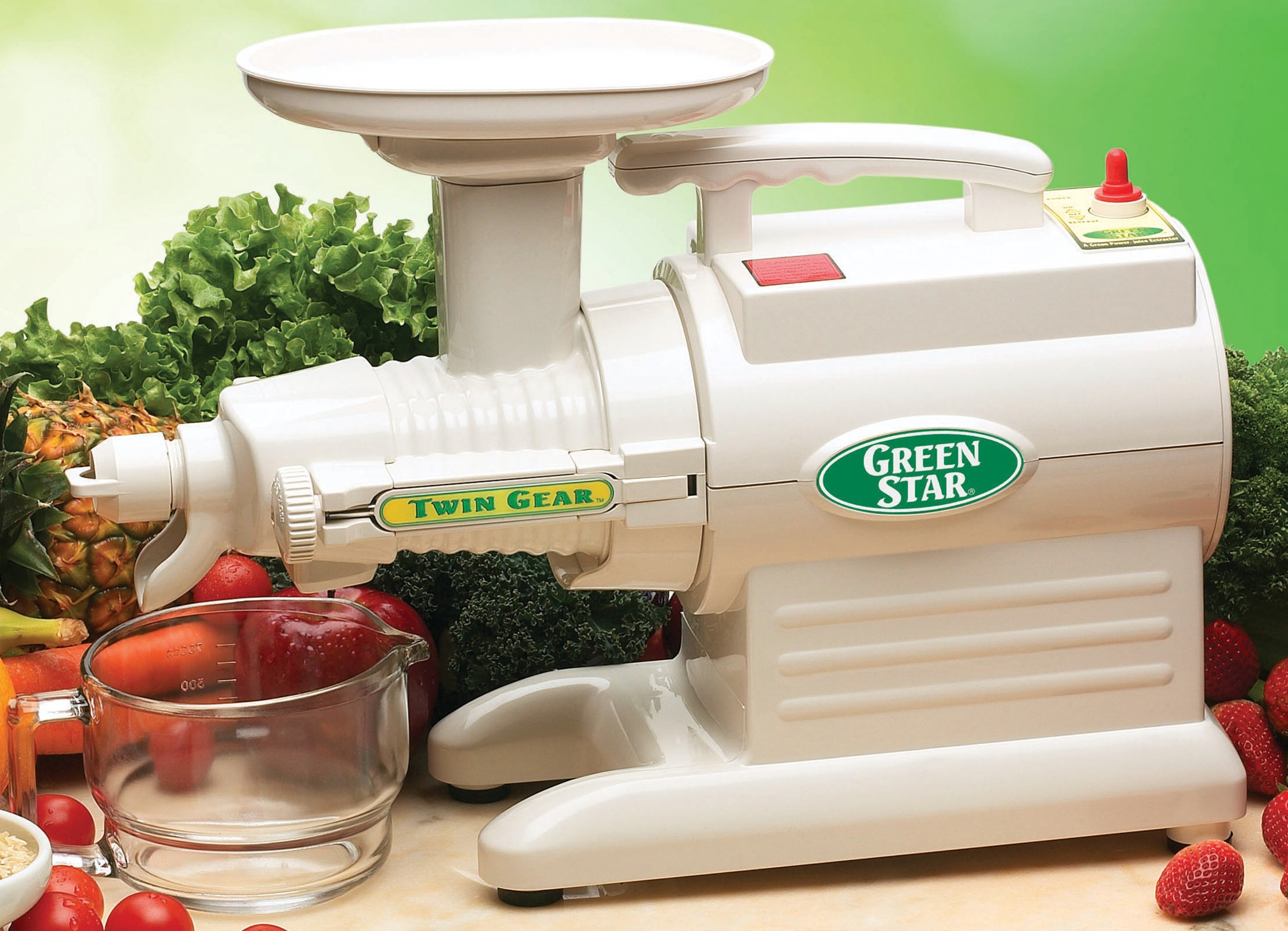 TriBest - Juicer Green Star Complete Juice Extractor GS-2000