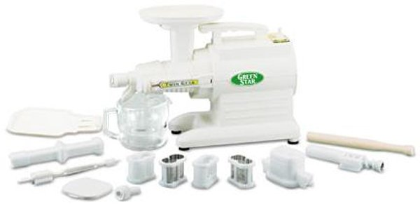 Image of TriBest - Green Star Deluxe Juice Extractor GS-3000