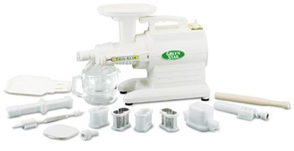 TriBest - Green Star Deluxe Juice Extractor GS-3000 by TriBest