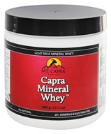 Mt. Capra Products - Capra Goat Milk Mineral Whey - 25.4 oz.