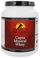 Mt. Capra Products - Capra Goat Milk Mineral Whey - 50.8 oz. - $50.36