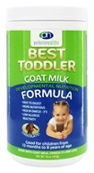 Perfectly Healthy - Best Toddler Goat Milk Developmental Nutrition Formula Chocolate - 16 oz. (856356001211)