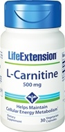 Life Extension - L-Carnitine 500 mg. - 30 Capsules