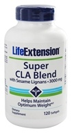 Life Extension - Super CLA Blend with Sesame Lignans 1000 mg. - 120 Softgels, from category: Diet & Weight Loss