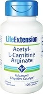 Life Extension - Acetyl-L-Carnitine Arginate - 100 Vegetarian Capsules (737870152514)