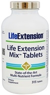 Life Extension - Mix State-of-the-Art Multi-Nutrient Formula - 315 Tablets with Pterostilbene