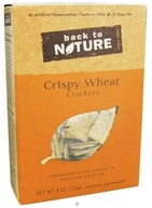 Back To Nature - Crackers Crispy Wheat - 8 oz.