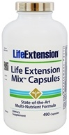 Life Extension - Mix State-of-the-Art Multi-Nutrient Formula - 490 Capsules (737870185444)