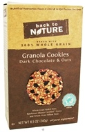 Back To Nature - Granola Cookies Dark Chocolate & Oats - 8.5 oz.