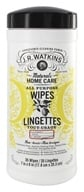 JR Watkins - Natural Home Care All Purpose Wipes Lemon - 35 Wipe(s)