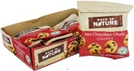 Back To Nature - Cookies Mini 6 Pack Chocolate Chunk - 7.5 oz. by Back To Nature