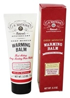 JR Watkins - Naturals Apothecary Deep Muscle Warming Balm - 3.3 oz. (818570008896)