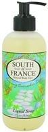 South of France - Liquid Soap Renewing Cucumber Aloe - 12 oz.