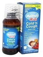Image of Hylands - Nighttime Cold 'N Cough 4 Kids - 4 oz.