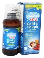Hylands - Nighttime Cold 'N Cough 4 Kids - 4 oz. by Hylands