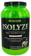 Species Nutrition - Isolyze Whey Protein Isolate Chocolate Milk - 2 lbs., from category: Sports Nutrition