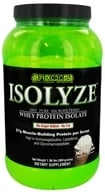 Species Nutrition - Isolyze Whey Protein Isolate Vanilla Ice Cream - 2 lbs.