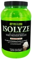 Species Nutrition - Isolyze Whey Protein Isolate Vanilla Ice Cream - 2 lbs. by Species Nutrition