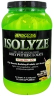 Species Nutrition - Isolyze Whey Protein Isolate Vanilla Peanut Butter - 2 lbs.